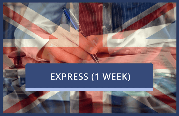 Apostille Stamp UK With Certification (Express)