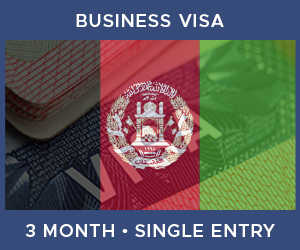 United Kingdom Single Entry Business Visa For Afghanistan (3 Month 30 Day)