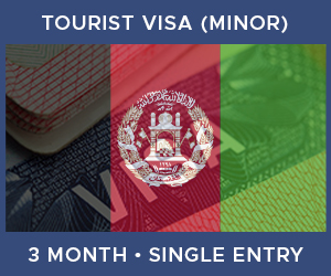 United Kingdom Single Entry Minor Visa For Afghanistan (3 Month 30 Day)