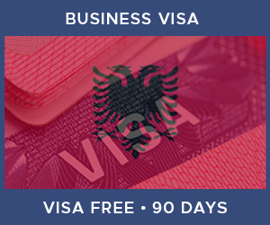 United Kingdom Business Visa For Albania (90 Day Visa Free Period)