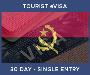 United Kingdom Single Entry Tourist eVisa For Angola (30 Day 30 Day)