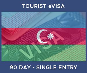 United Kingdom Single Entry Tourist eVisa For Azerbaijan (90 Day 30 Day)