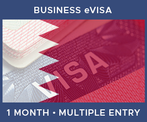 United Kingdom Multiple Entry Business eVisa For Bahrain (1 Month 30 Day)