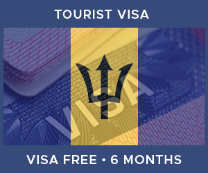 United Kingdom Tourist Visa For Barbados (6 Month Visa Free Period)