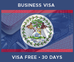 United Kingdom Business Visa For Belize (30 Day Visa Free Period)