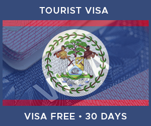 United Kingdom Tourist Visa For Belize (30 Day Visa Free Period)