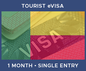 United Kingdom Single Entry Tourist eVisa For Benin (1 Month 30 Day)