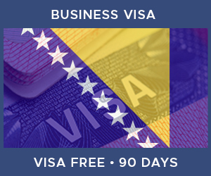 United Kingdom Business Visa For Bosnia and Herzegovina (90 Day Visa Free Period)