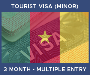 United Kingdom Multiple Entry Minor Visa For Cameroon (3 Month 30 Day)