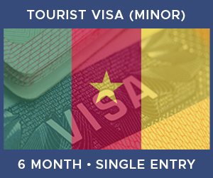 United Kingdom Single Entry Minor Visa For Cameroon (6 Month 30 Day)