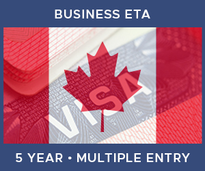 United Kingdom Multiple Entry Business ETA eVisa For Canada (5 Year 180 Day)