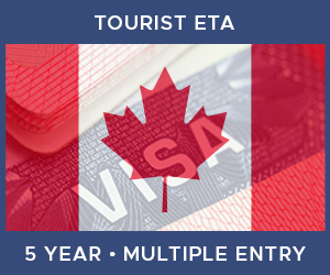 United Kingdom Multiple Entry Tourist ETA eVisa For Canada (5 Year 180 Day)
