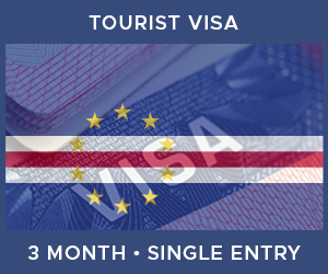 United Kingdom Single Entry Tourist Visa For Cape Verde (3 Month 90 Day)