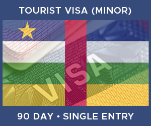 United Kingdom Single Entry Minor Visa For Central African Republic (90 Day 90 Day)