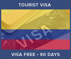 United Kingdom Tourist Visa For Colombia (90 Day Visa Free Period)