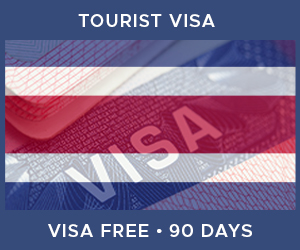 United Kingdom Tourist Visa For Costa Rica (90 Day Visa Free Period)