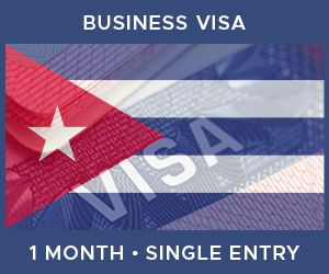 United Kingdom Single Entry Business Visa For Cuba (1 Month 30 Day)