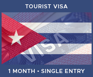 United Kingdom Single Entry Tourist Visa For Cuba (1 Month 30 Day)