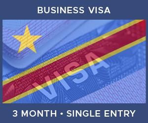 United Kingdom Single Entry Business Visa For Democratic Republic of the Congo (3 Month 30 Day)