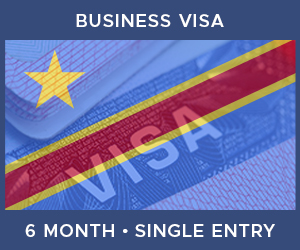 United Kingdom Single Entry Business Visa For Democratic Republic of the Congo (6 Month 30 Day)