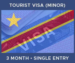 United Kingdom Single Entry Minor Visa For Democratic Republic of the Congo (3 Month 30 Day)