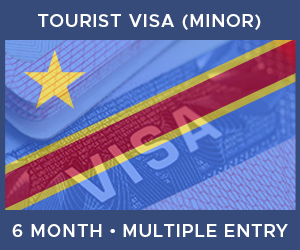 United Kingdom Multiple Entry Minor Visa For Democratic Republic of the Congo (6 Month 30 Day)