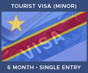 United Kingdom Single Entry Minor Visa For Democratic Republic of the Congo (6 Month 30 Day)