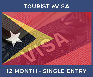 United Kingdom Single Entry Tourist eVisa For East Timor (12 Month 90 Day)