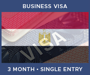 United Kingdom Single Entry Business Visa For Egypt (3 Month 60 Day)
