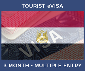 United Kingdom Multiple Entry Tourist eVisa For Egypt (3 Month 30 Day)