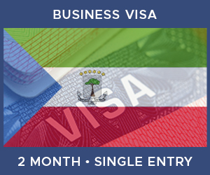 United Kingdom Single Entry Business Visa For Equatorial Guinea (2 Month 30 Day)