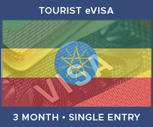United Kingdom Single Entry Tourist eVisa For Ethiopia (3 Month 30 Day)