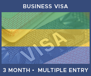 United Kingdom Multiple Entry Business Visa For Gabon (3 Month 90 Day)
