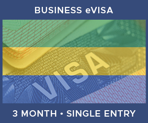 United Kingdom Single Entry Business eVisa For Gabon (3 Month 90 Day)
