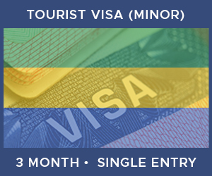 United Kingdom Single Entry Minor Visa For Gabon (3 Month 90 Day)