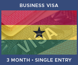 United Kingdom Single Entry Business Visa For Ghana (3 Month 90 Day)