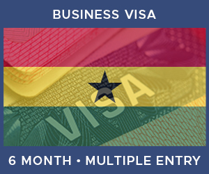 United Kingdom Multiple Entry Business Visa For Ghana (6 Month 90 Day)