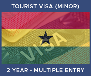 United Kingdom Multiple Entry Minor Visa For Ghana (2 Year 90 Day)