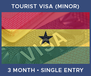 United Kingdom Single Entry Minor Visa For Ghana (3 Month 90 Day)