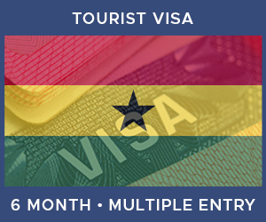 United Kingdom Multiple Entry Tourist Visa For Ghana (6 Month 90 Day)