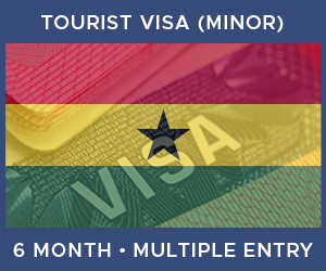 United Kingdom Multiple Entry Minor Visa For Ghana (6 Month 90 Day)