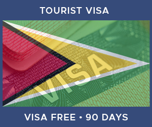 United Kingdom Tourist Visa For Guyana (90 Day Visa Free Period)