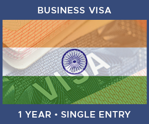 United Kingdom Single Entry Business Visa For India (1 Year 180 Day)
