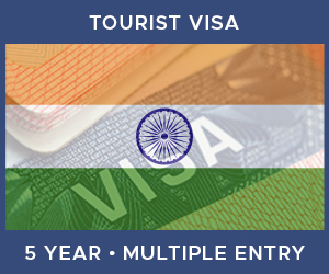 United Kingdom Multiple Entry Tourist Visa For India (5 Year 180 Day)