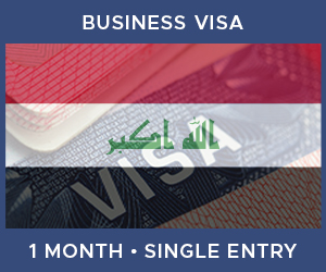 United Kingdom Single Entry Business Visa For Iraq (1 Month 30 Day)
