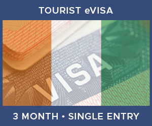 United Kingdom Single Entry Tourist eVisa For Ivory Coast (3 Month 90 Day)