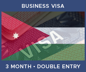 United Kingdom Double Entry Business Visa For Jordan (3 Month 30 Day)
