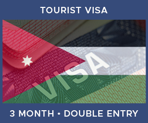 United Kingdom Double Entry Tourist Visa For Jordan (3 Month 30 Day)