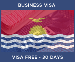 United Kingdom Business Visa For Kiribati (30 Day Visa Free Period)