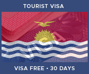 United Kingdom Tourist Visa For Kiribati (30 Day Visa Free Period)